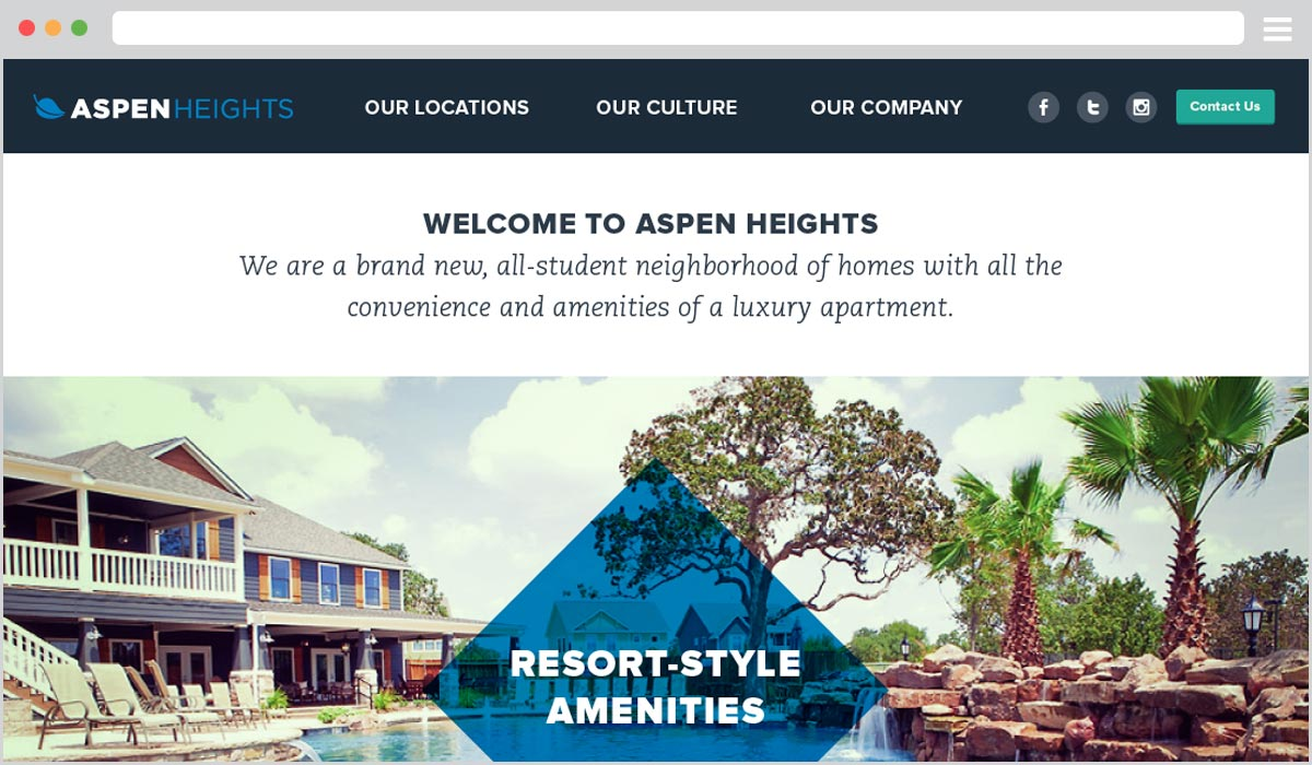 Aspen Heights Website