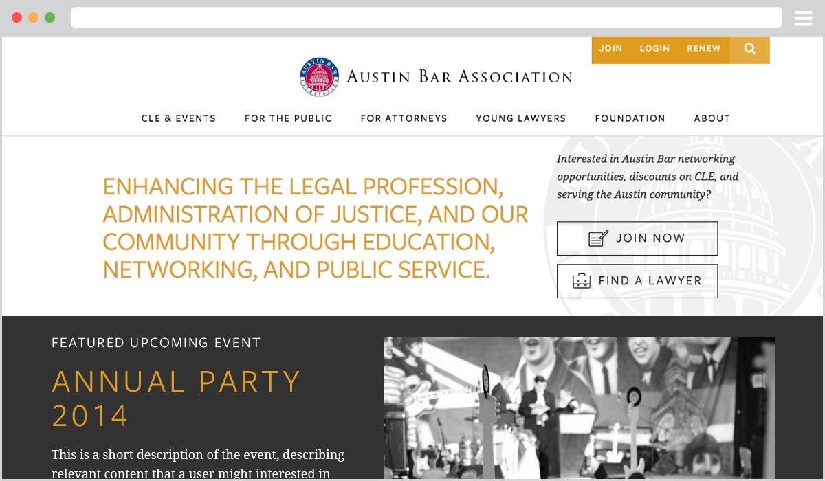 Membership Association Websites