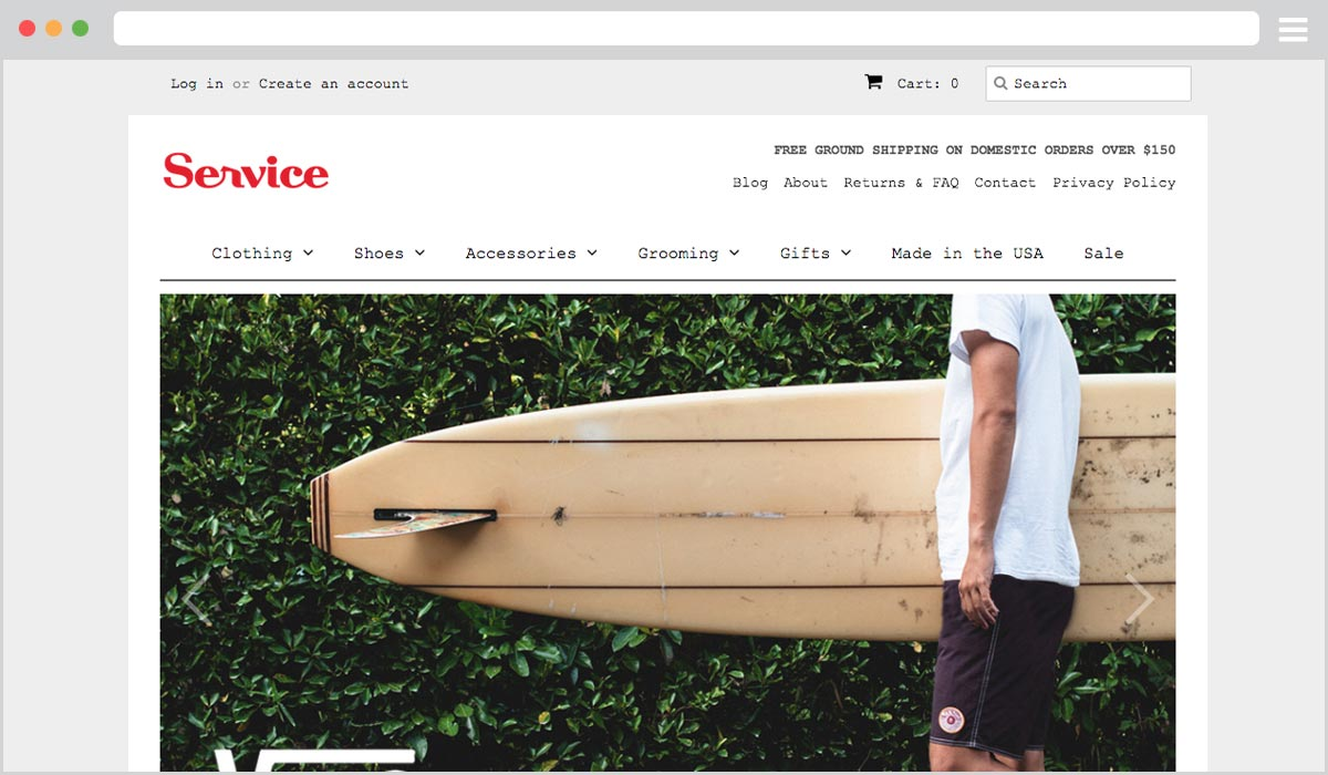 Retail Online Store Development