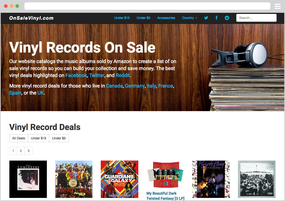 OnSaleVinyl - Vinyl Record Deals