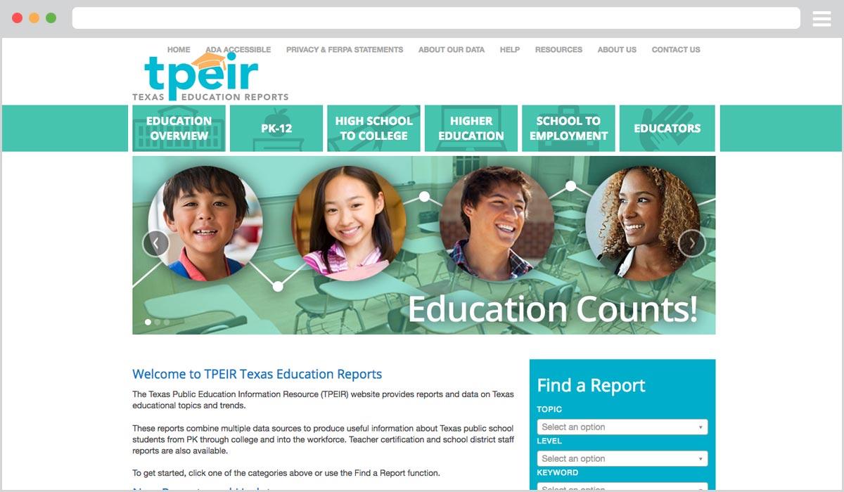 TPEIR Website
